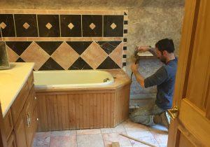 Custom Shower & Bathroom Installation Services by Pro Floor & Tile.