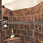 Dark Shower Tile