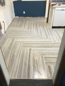 Luxury Vinyl Tile (LVT) installed by Pro Floor & Tile