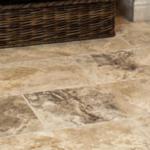 Granite tile flooring in Battle Lake, MN. Installed by Pro Floor & Tile.